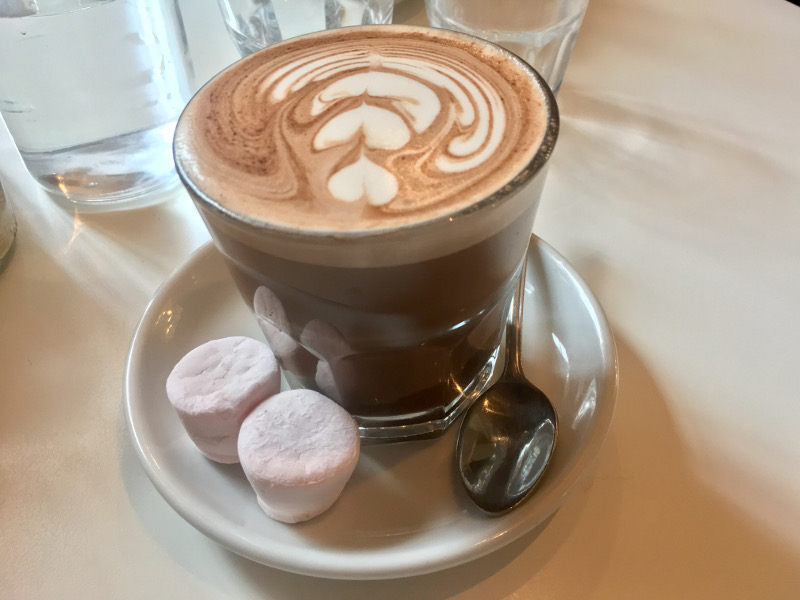 Homemade Hot Chocolate with Marshmallows from Boyce Da Roca Streatham