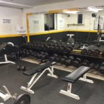 Inside Squats Gym: Dumbbell rack