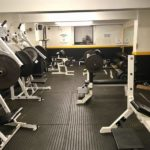 Inside Squats Gym: Free wight area