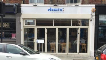 Azzurri Pizzeria Streatham Hill (shop front)