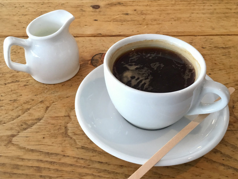 An Americano from Perfect Blend in Streatham