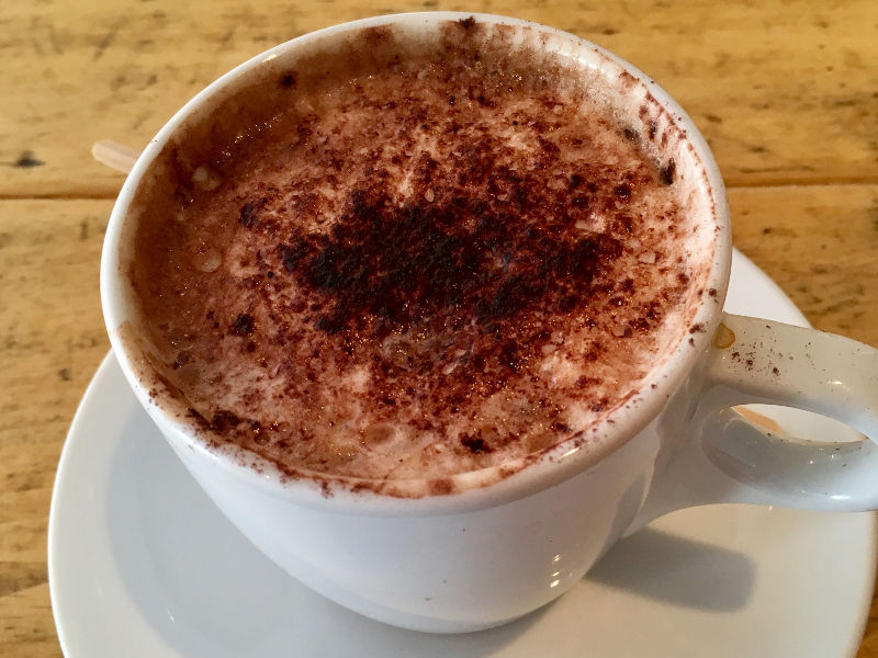 Hot chocolate from Perfect Blend in Streatham