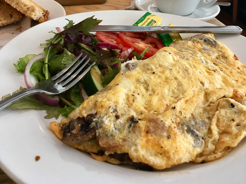 Omelette and Salad (Perfect Blend - Streatham Hill)