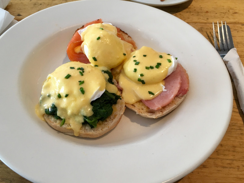 Triple Eggs (Benedict, Florentine, Royale) from Perfect Blend in Streatham